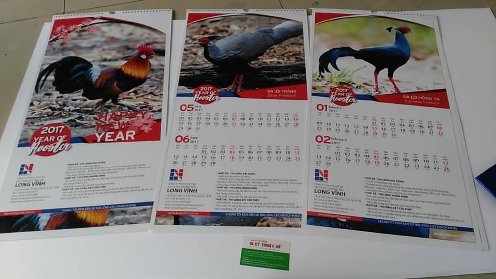 Mẫu lịch Tết - mẫu lịch treo tường