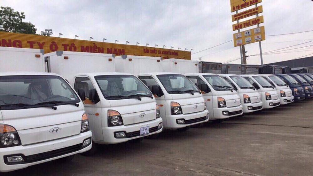 hệ thống khung gầm thiết kế chắc chắn của xe tải 1.5 tấn h150