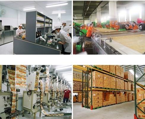 Công nghệ sản xuất đậu phộng Tân Tân