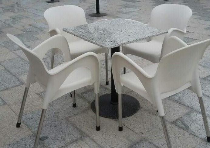 Ghế nhựa cafe chân inox giá rẻ tại TPHCM(4)