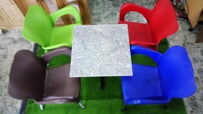 Mẫu ghế nhựa cafe đẹp