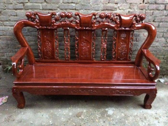 Mẫu bàn ghế gỗ phòng khách dưới 10 triệu đẹp
