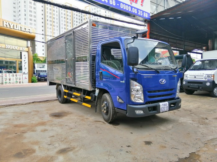 Xe tải Iz65 thùng kín 3T5 - Mua bán xe tải cũ mới giá rẻ 2018