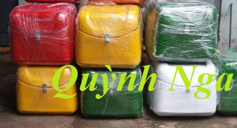 Sản xuất và cung cấp thùng nhựa chở hàng cho xe máy, thùng giao hàng giá rẻ