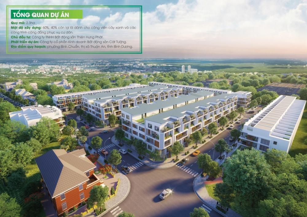 Đầu tư nhà phố Bình Dương - Khu Dân Cư Thiên Phúc Thuận An, Bình Dương chỉ từ 18 triệu/m2