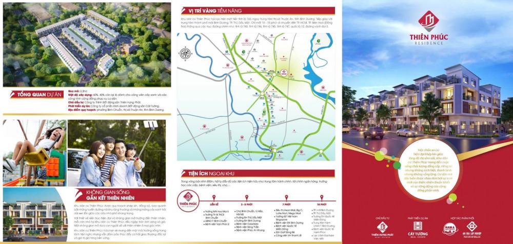 Giá nhà phố đầu tư tại Bình Chuẩn, Thị xã Thuận An, Dĩ An, Bình Dương