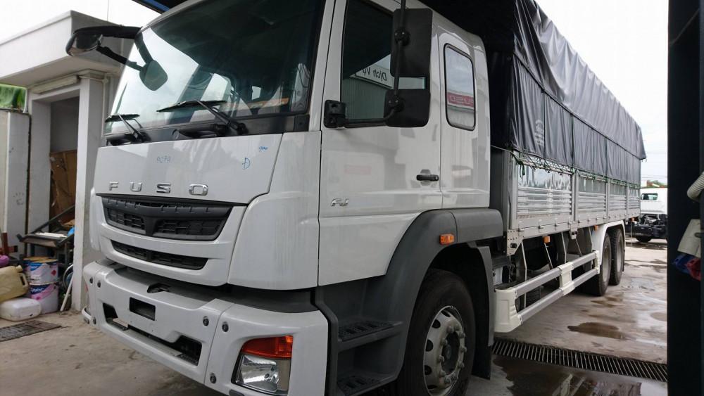 xe tải fuso fj 3 chân 15 tấn giá rẻ nhất