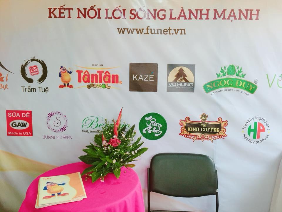 Tân Tân có mặt tại lễ hội văn hóa ẩm thực chay(3)