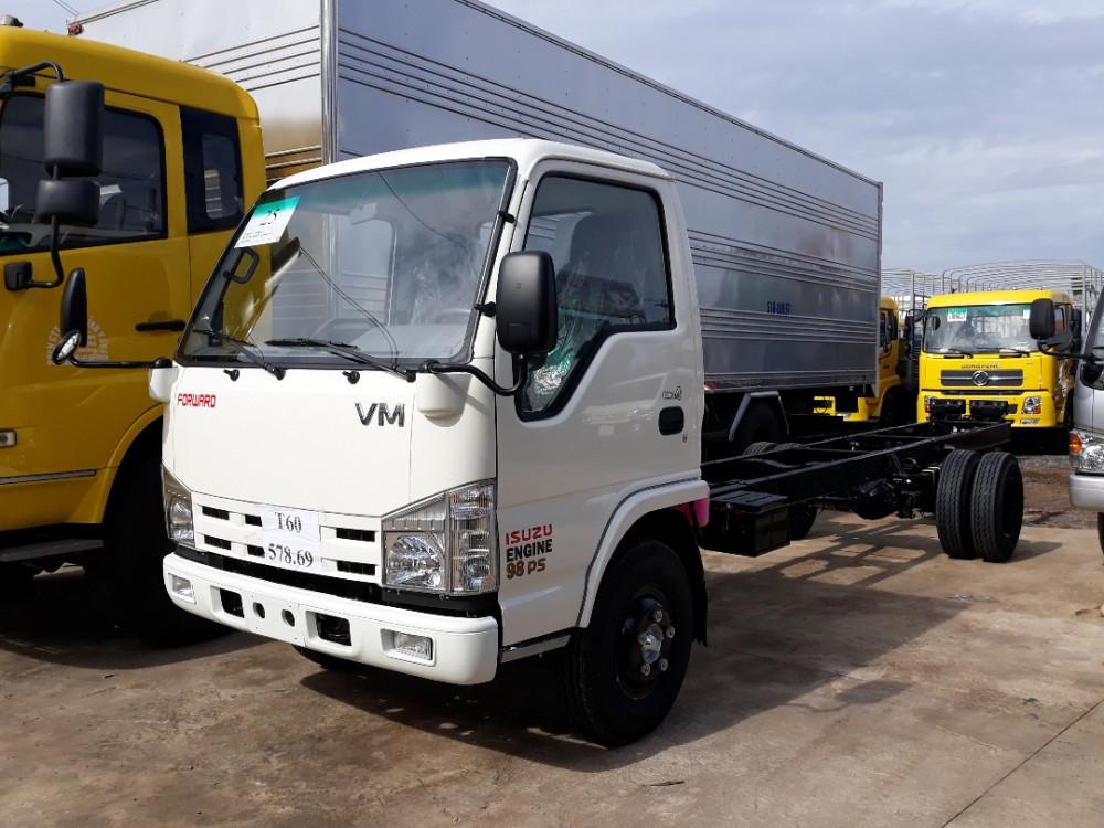 Tư vấn mua trả góp xe tải Isuzu 1.9 tấn