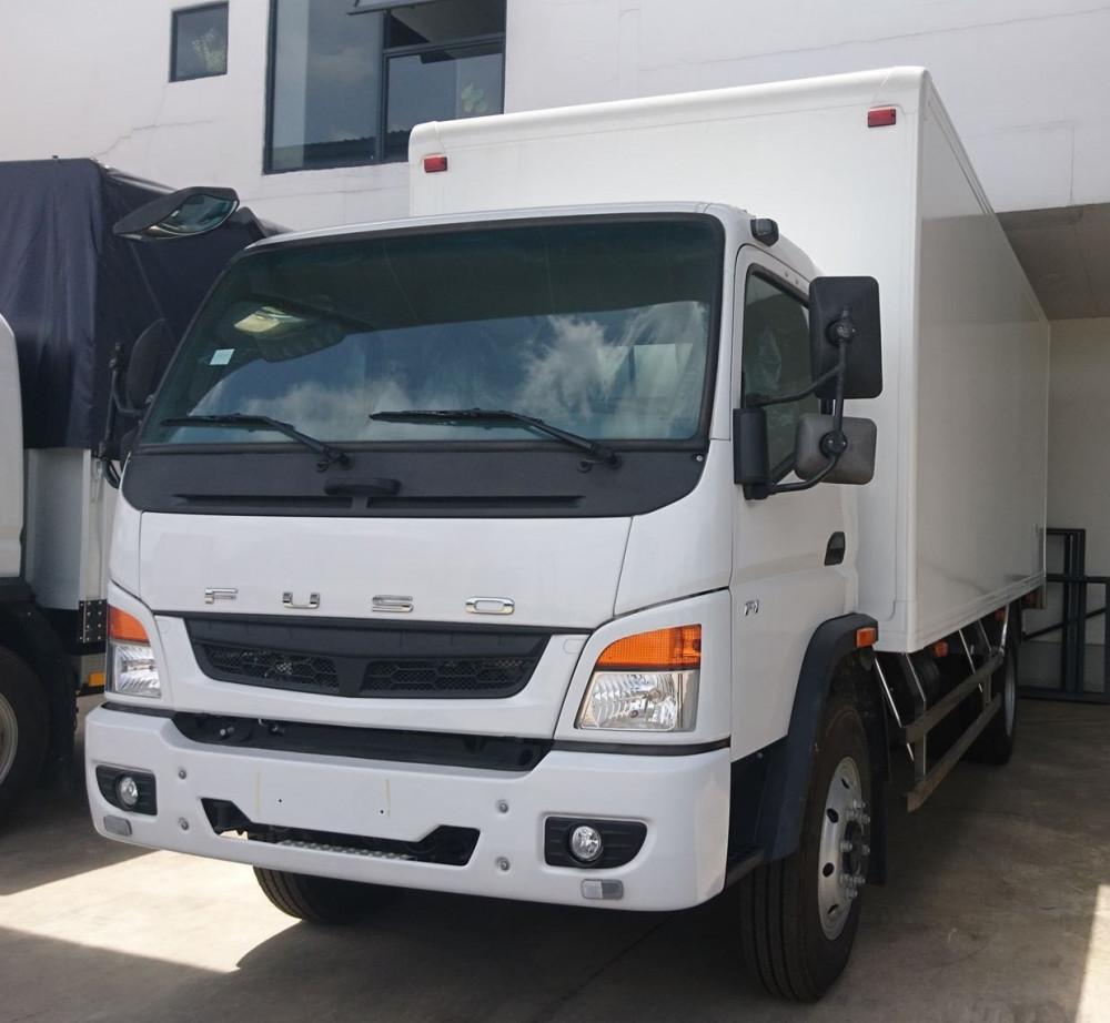 xe tải fuso fi thùng kín composite(2)