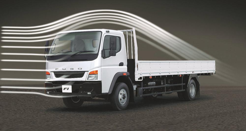 cabin xe tải fuso fi thiết kế khí động học