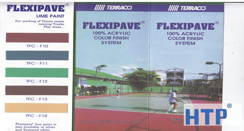 Nhà thầu chuyên thi công sơn sân tennis giá cạnh tranh