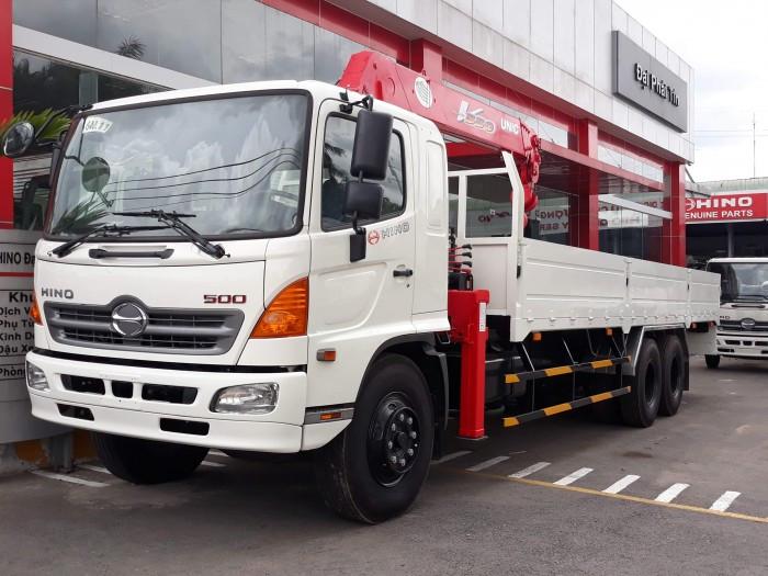 Kinh nghiệm chọn mua xe tải Hino gắn cẩu chất lượng