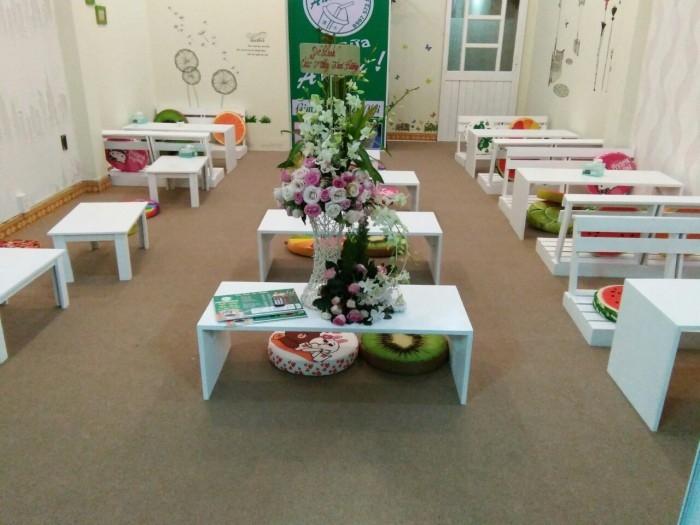 Báo giá bàn ghế ngồi bệt quán cafe, trà sữa tại TPHCM