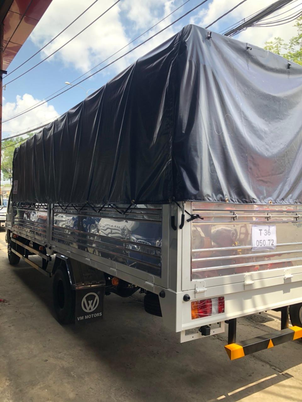 Đặc điểm xe tải Isuzu NK490SL 1T9 thùng 6m2 mới 100% 2018