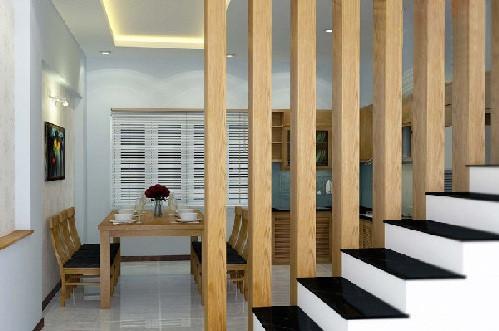 Lịch lãm, sang trọng - Ưu điểm trang trí lam gỗ cnc cầu thang đẹp