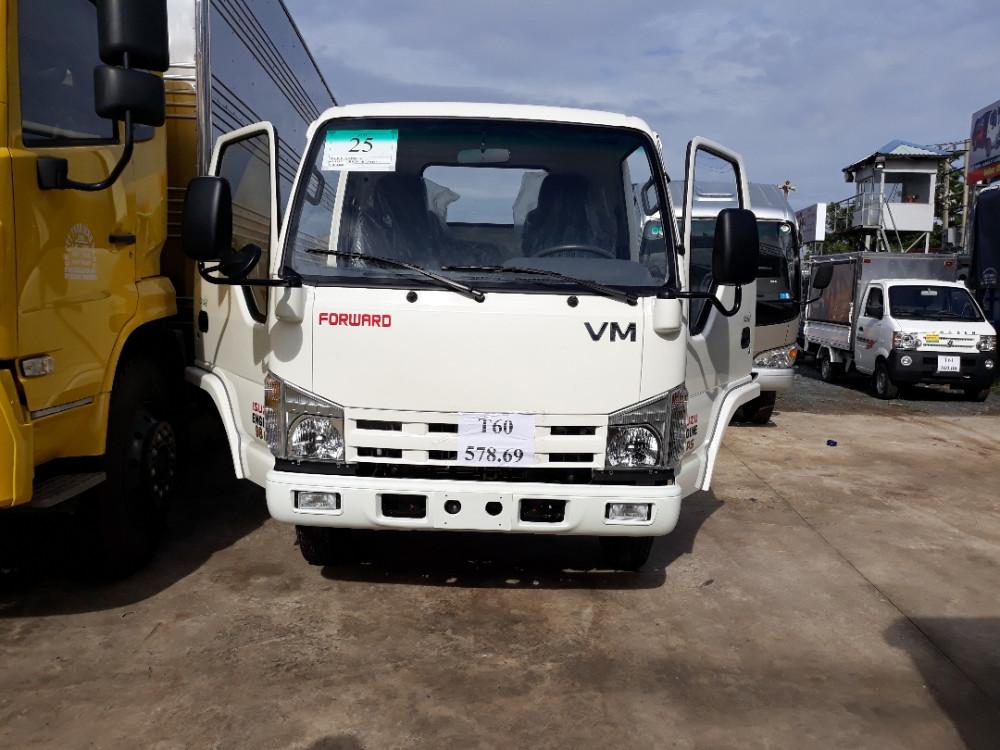Giá xe tải Isuzu 1.9 tấn tại Bình Dương