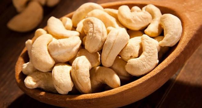 Lợi ích của hạt điều đối với sức khỏe con người
