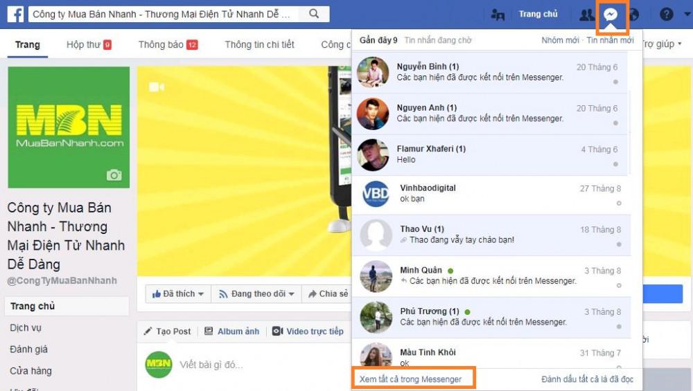 Mách bạn cách khôi phục lại tin nhắn đã xóa trên Messenger Facebook