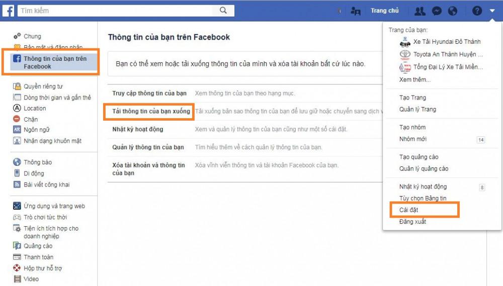 Mách bạn cách khôi phục lại tin nhắn đã xóa trên Messenger Facebook - 3