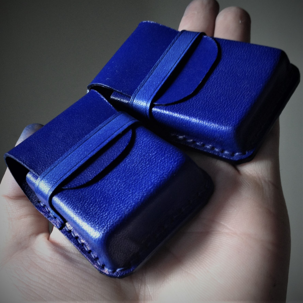 Bao đựng zippo, navy blue color