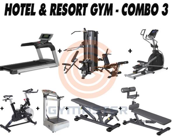 Chuyên gia cung cấp giải pháp toàn diện phòng gym dành riêng cho Resort - Khách sạn