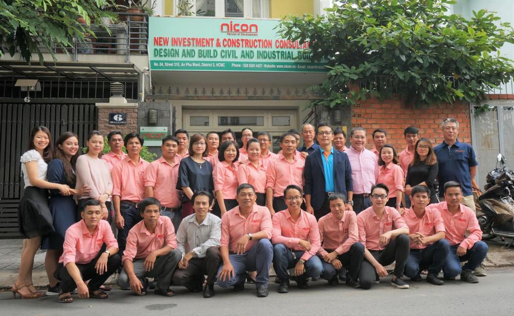 Đội ngũ nhân viên công ty Nicon