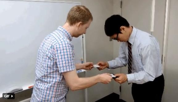 Nghệ thuật giao tiếp của người Nhật thông qua chiếc card visit