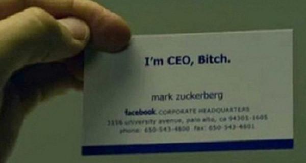 card visit độc đáo đến từ các doanh nhân thế giới
