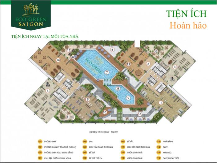 Dự án khu căn hộ cao cấp Eco Green Sài Gòn Quận 7