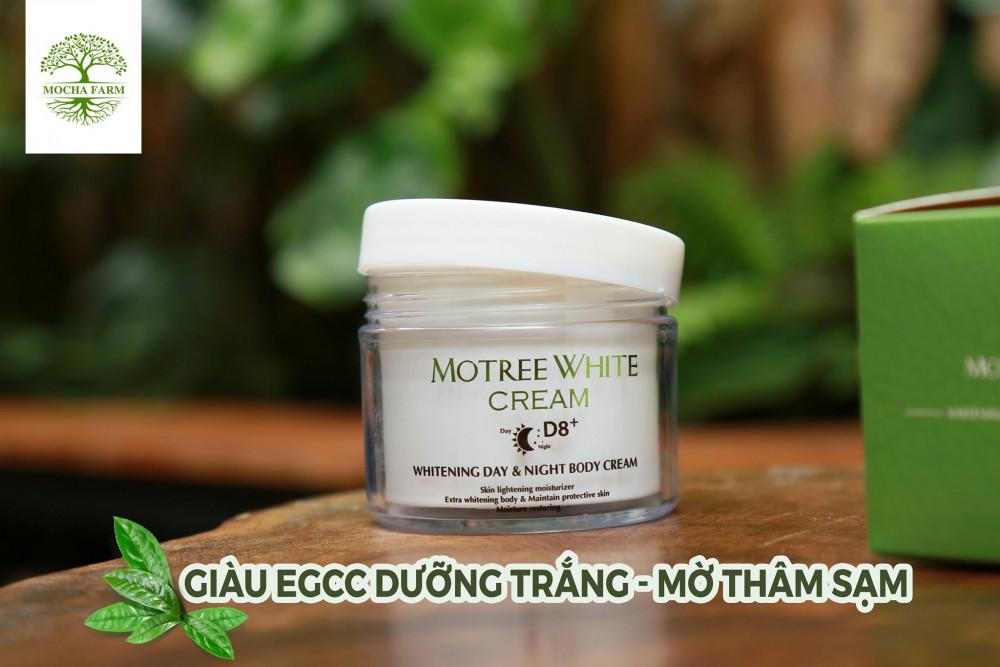 Kem trắng da toàn thân Mocha Body Motree White Cream