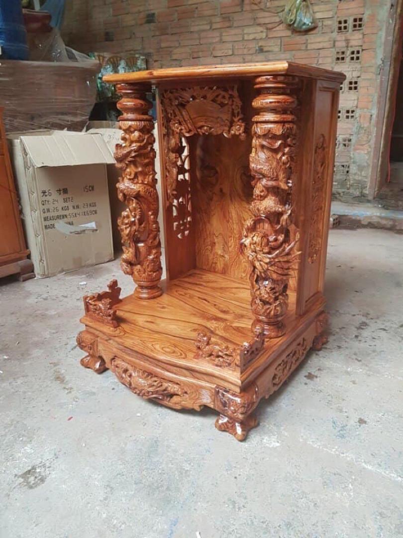 bàn thờ Ông Địa, Thần Tài gỗ cẩm lai cao cấp