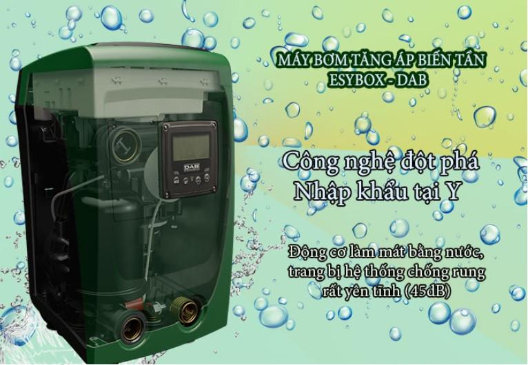 Tùy chỉnh tốc độ bơm nước với máy bơm tăng áp biến tần