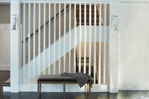 Xu hướng trang trí cầu thang, phòng khách bằng lam gỗ cnc 2018