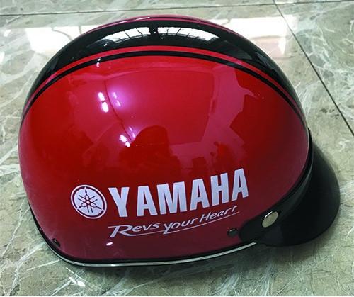 Xưởng sản xuất nón bảo hiểm giá rẻ tại Bình Dương, sản xuất nón bảo hiểm nhanh, In ấn logo quảng cảo đẹp