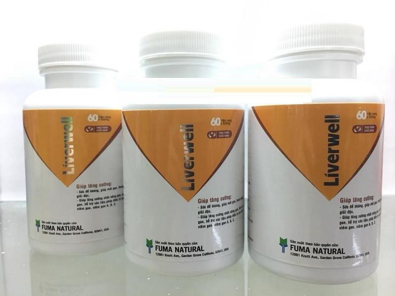 Liver well thảo dược hỗ trợ điều trị viêm gan A, B, C