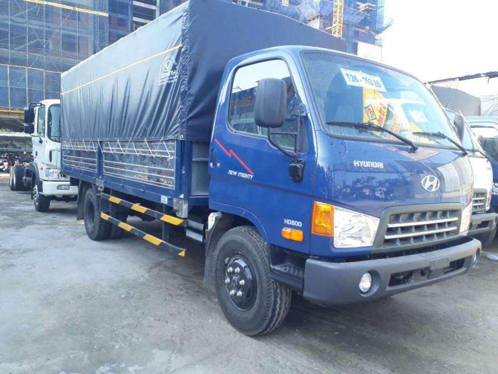 Ngoại thất xe tải Hyundai 8 tấn HD800