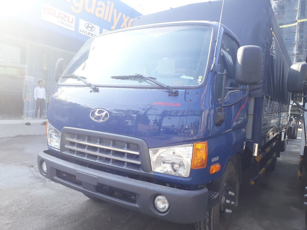 Đánh giá xe tải Hyundai 8 tấn HD800 từ người sử dụng