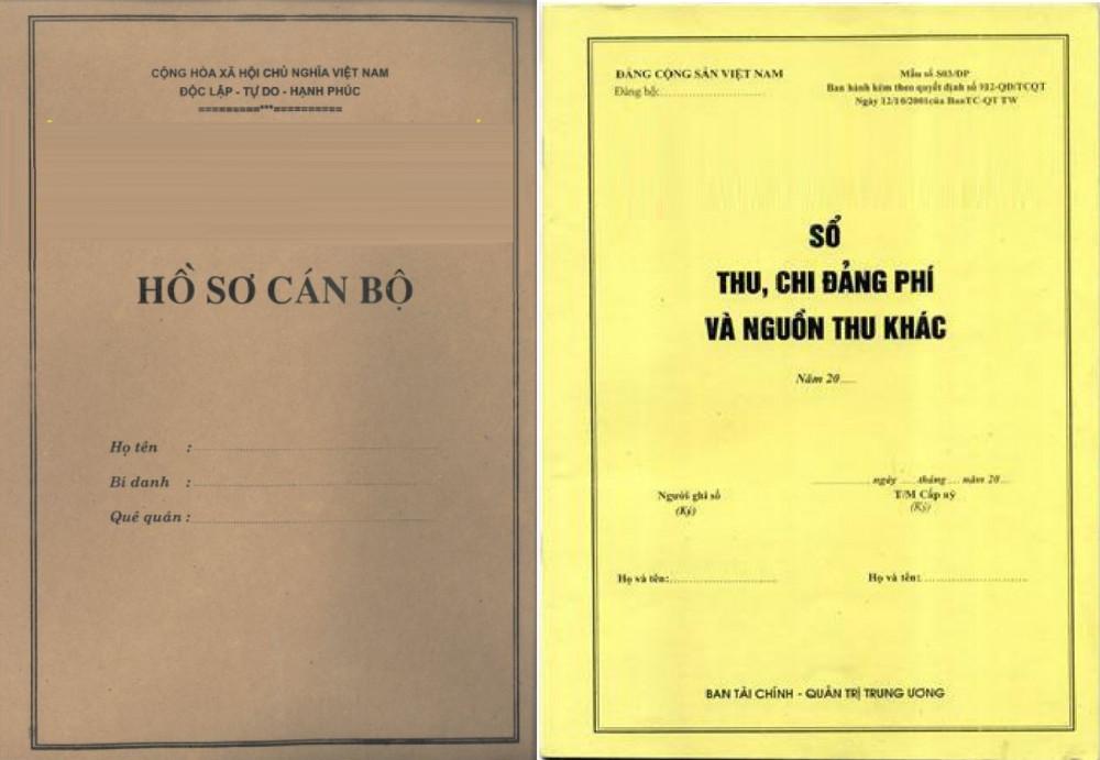 Mẫu bộ hồ sơ cán bộ công nhân viên chức