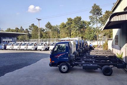 Công ty CP Ô tô Hyundai Ngôi sao - Mua bán xe tải Hyundai H150, N250, Mighty 75S -110S