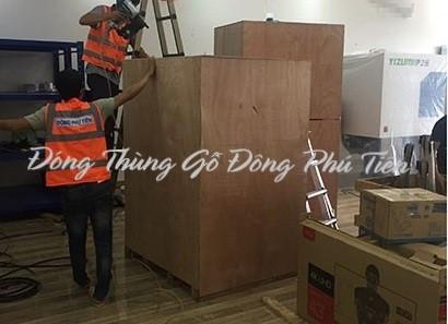 Đóng thùng gỗ giá rẻ tại Tiên Du - Bắc Ninh