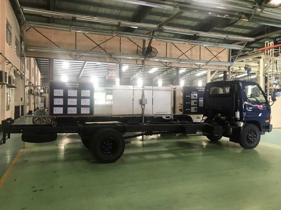 Hệ thống khung gầm của xe tải Hyundai HD120SL