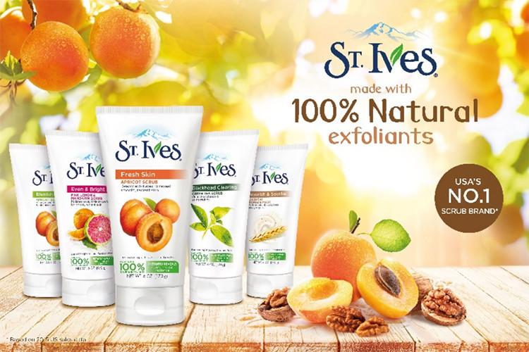 Sữa rửa mặt ST.IVES tươi mát da hương mơ 170g
