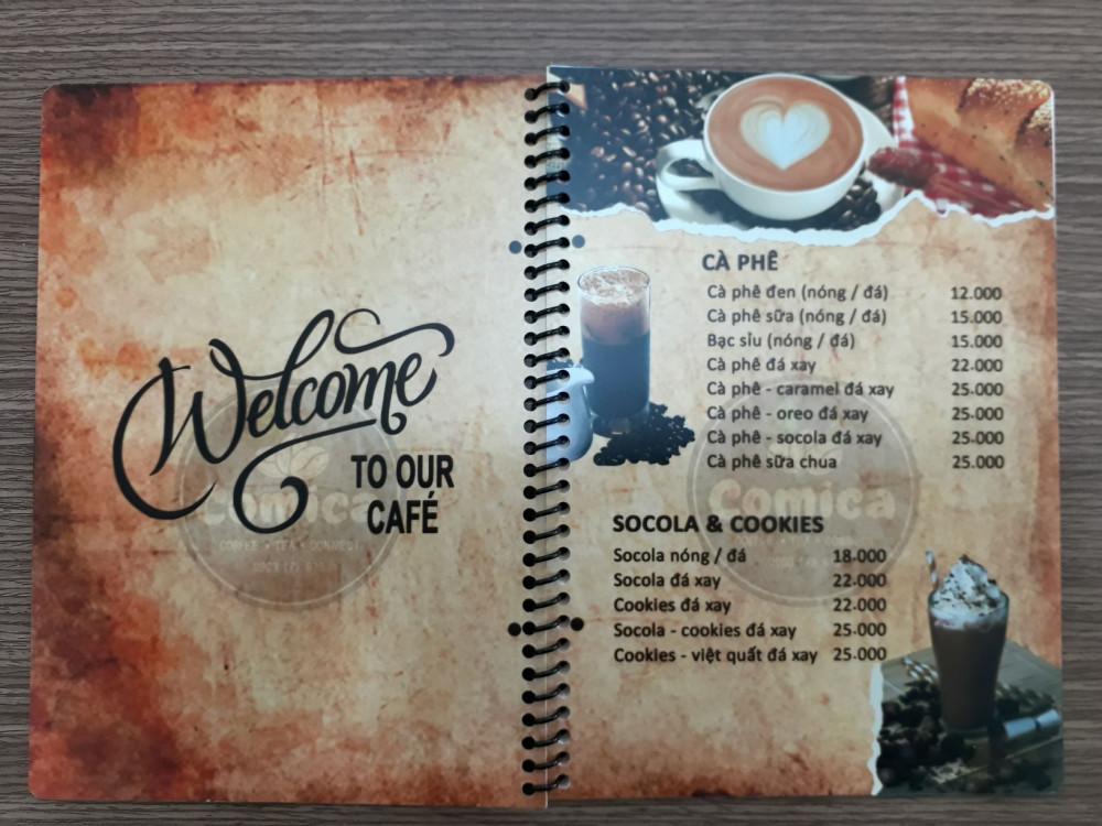 các chất liệu giấy in menu 9