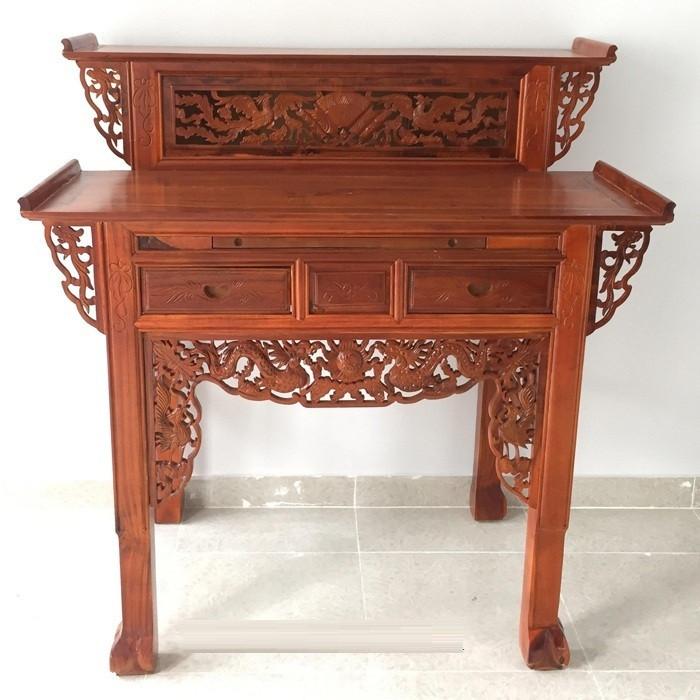 Nơi chọn mua bàn thờ gia tiên mẫu đẹp giá rẻ tại TPHCM