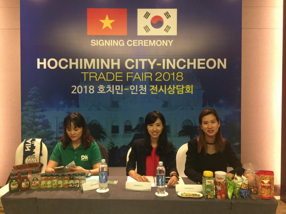 Tân Tân tham gia hội thảo giao thương các doanh nghiệp TPHCM – INCHEON (HÀN QUỐC)(1)