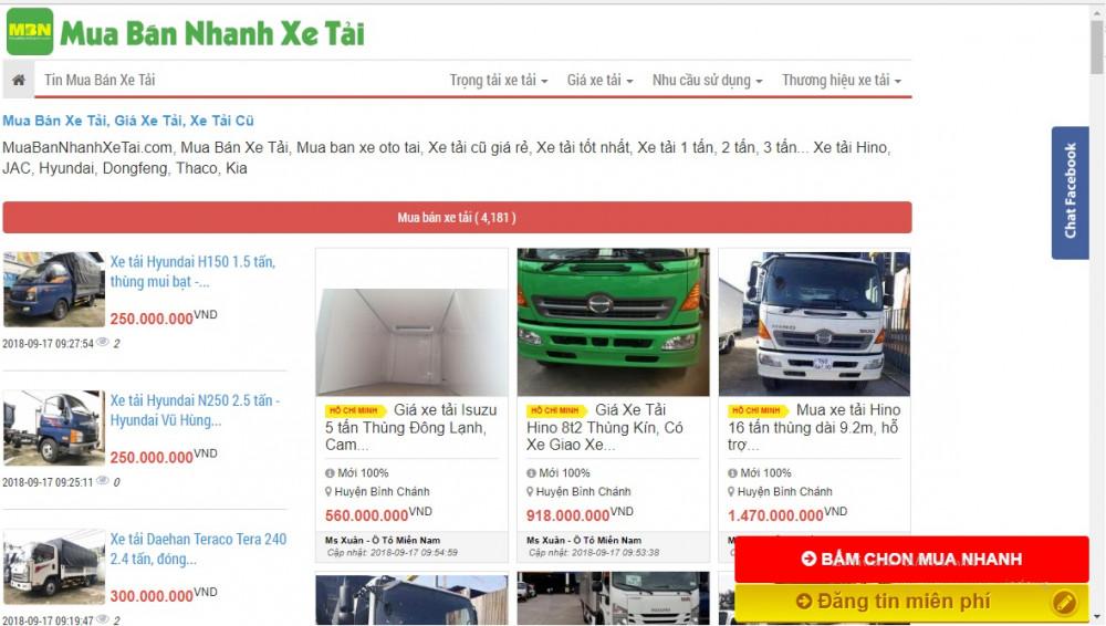 Thiết kế web bán xe tải cần chức năng gì?(2)