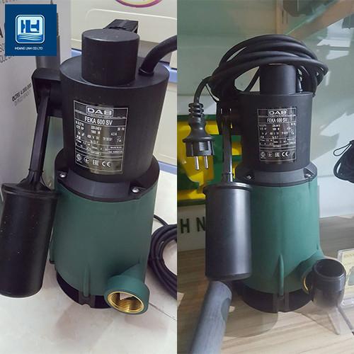 Tổng hợp máy bơm chìm nước thải bằng nhựa cho công trình nhỏ