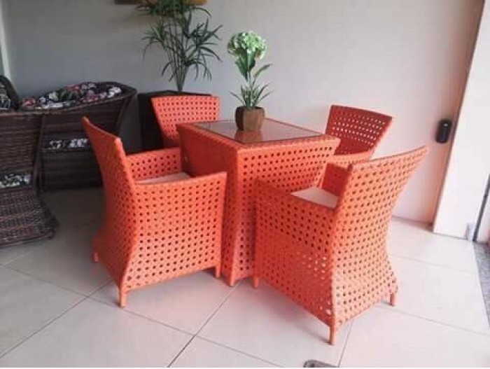Chọn mua sofa, bàn ghế nhựa giả mây giá rẻ