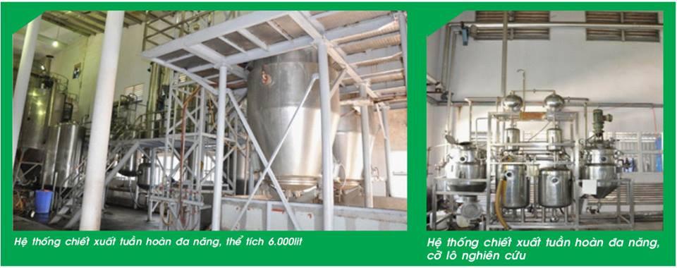 Công nghệ sản xuất cao khô bằng sấy phun sương hiện đại nhất Việt Nam